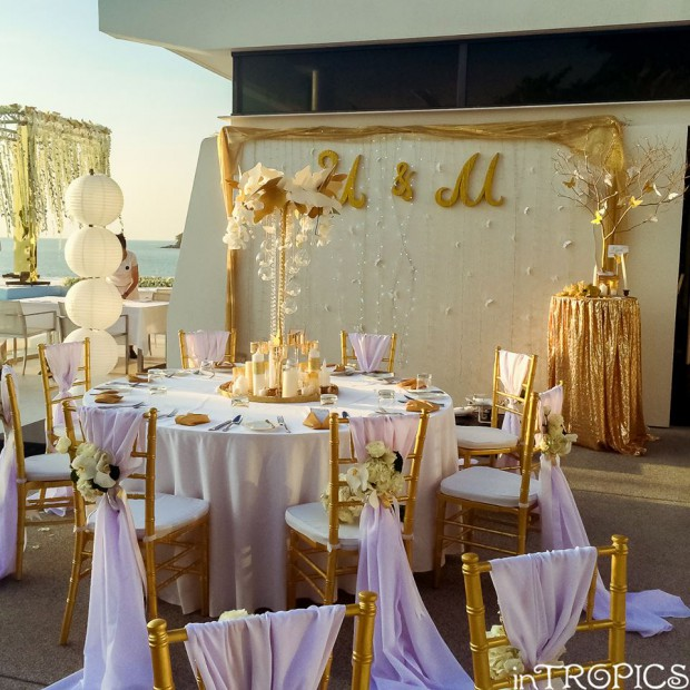 Mary & Igor's Phuket wedding reception by Weddings In Phuket